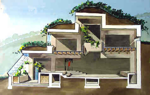 An overview of alternative housing designs part 2 for Berm home designs