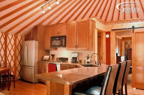 An overview of alternative housing designs part three for Yurt home plans