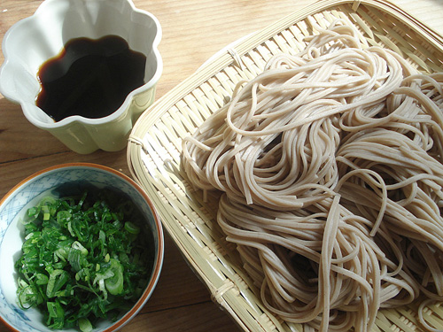 ...but Buckwheat Flour is the most common edible from this plant (picture are soba noodles from Japananese cuisine).