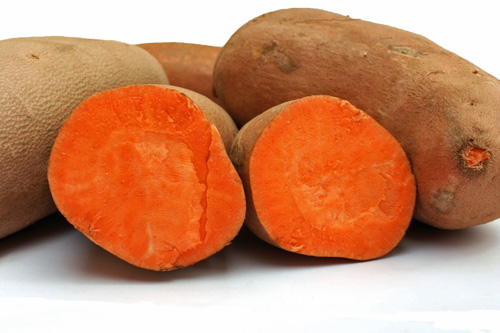 The deep colors mean the tubers are packed with nutrition.