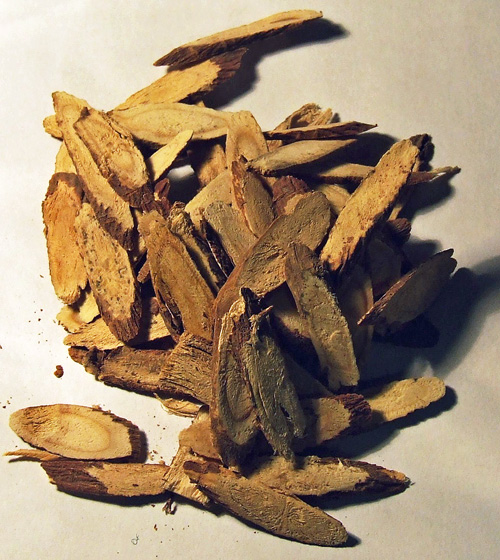Licorice root can be used fresh, but it is usually dried.