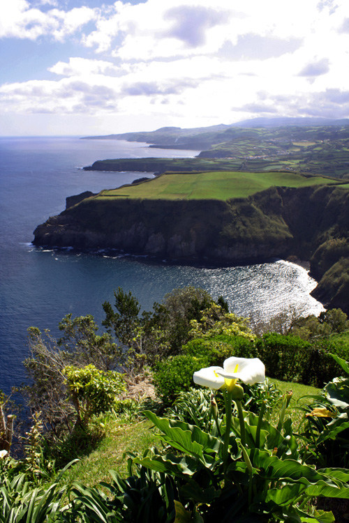 One overlook on São Miguel Island, Azores.
