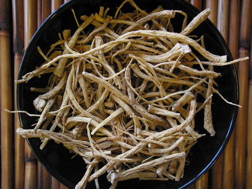 Lower quality Ginseng roots.