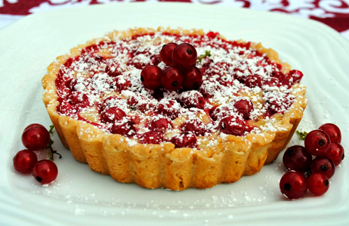 Baked desserts are one of my favorite ways to eat currants!