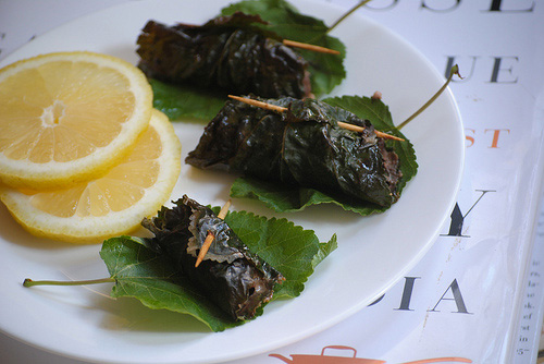 Another stuffed Mulberry leaf recipe!
