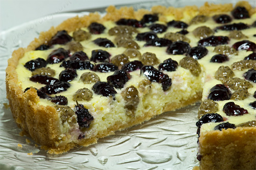 Mulberry Tart