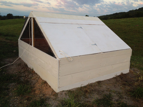 Permaculture Projects: A Moderately Large Chicken Brooder!