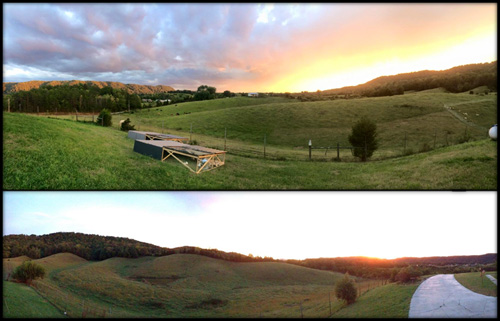 A view of our farm in Bulls Gap, TN