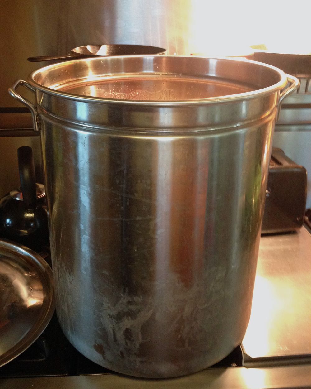 Here is our 62-quart stock pot... the Bone Broth Pot!