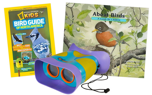 "The ""Beginning Birder Set"" I put together this Christmas."